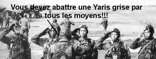 Abattre Yaris