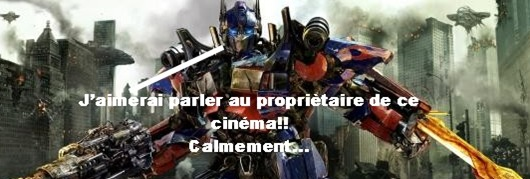 Optimus Prime pas causant