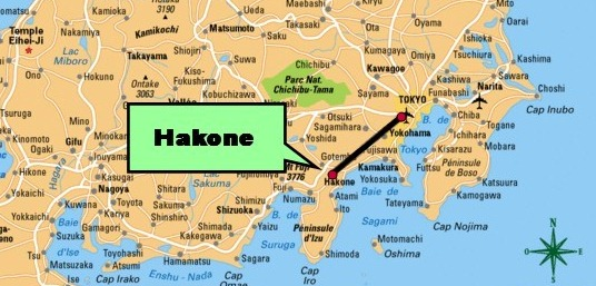 Hakone, japon – mes sources chaudes