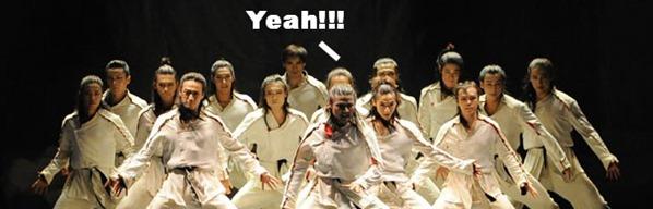 Taekwondo dance