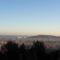Barcelone, Espagne – Le quartier de Garcia et le Park Guëll