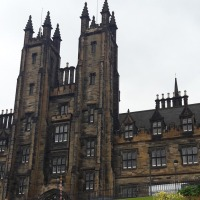 Edimbourg, Ecosse – Le château d'Edimbourg et ses alentours